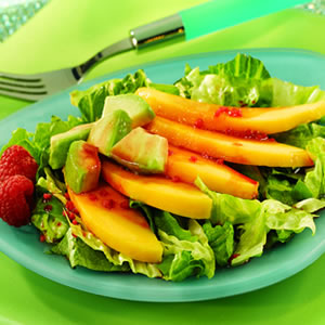 Avocado and Mango Salad with Acai-Berry Vinaigrette