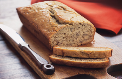 Banana Raisin Bread Recipe Photo - Diabetic Gourmet Magazine Recipes