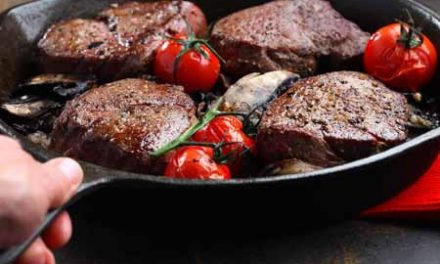 Beef Tenderloin with Balsamic-Coffee Sauce