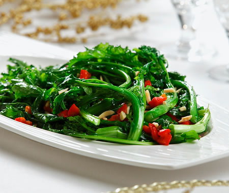 Broccoli Rabe Saute Recipe Photo - Diabetic Gourmet Magazine Recipes