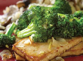Broccoli With Asian Tofu Recipe Photo - Diabetic Gourmet Magazine Recipes