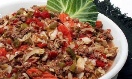 Cabbage and Turkey Ragout