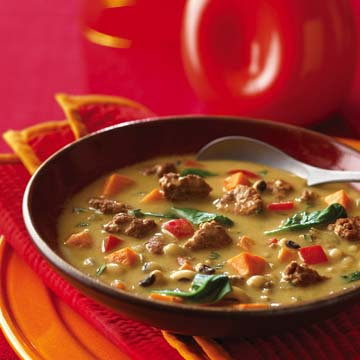 Calypso Beef Soup Recipe Photo - Diabetic Gourmet Magazine Recipes