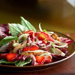 Chicken, Strawberry and Fennel Salad