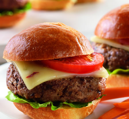 Chipotle Pepper Jack Sliders Recipe Photo - Diabetic Gourmet Magazine Recipes