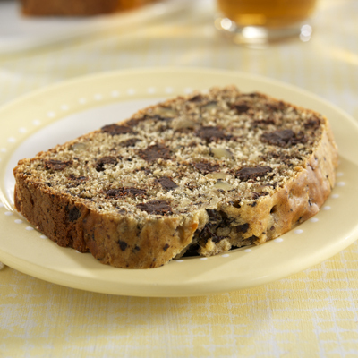 Chocolate-Chunk Banana Nut Bread Recipe Photo - Diabetic Gourmet Magazine Recipes