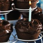 Chocolate Cupcakes recipe photo from the Diabetic Gourmet Magazine diabetic recipes archive.