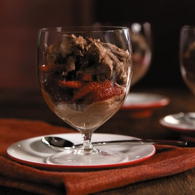 Chocolate Velvet Mousse Recipe Photo - Diabetic Gourmet Magazine Recipes