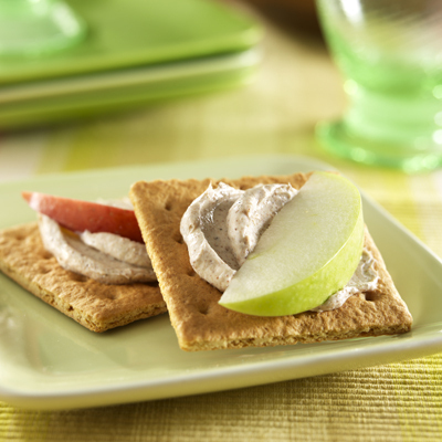 Cinnamon Apple Crackers recipe photo from the Diabetic Gourmet Magazine diabetic recipes archive.