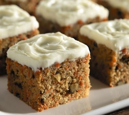 Classic Carrot Cake Recipe Photo - Diabetic Gourmet Magazine Recipes