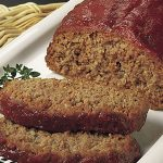 Classic Meatloaf recipe photo from the Diabetic Gourmet Magazine diabetic recipes archive.