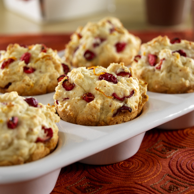 Cranberry-Orange Muffins Recipe Photo - Diabetic Gourmet Magazine Recipes
