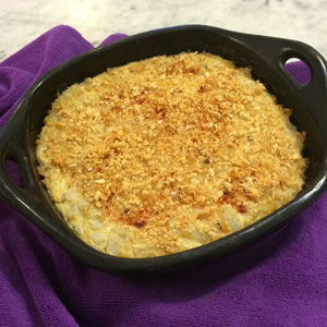 Creamy Tuna Mac Casserole Recipe Photo - Diabetic Gourmet Magazine Recipes