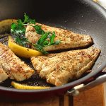 Cumin-Crusted Fish Fillet with Lemon