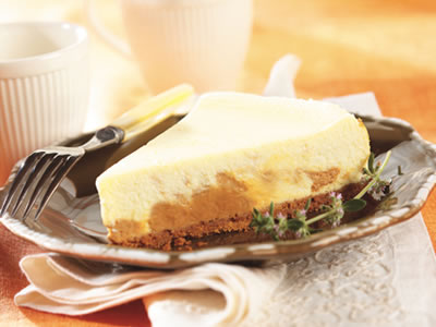 Dulce de Leche Cheesecake Recipe Photo - Diabetic Gourmet Magazine Recipes