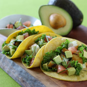 Fish Tacos with California Avocado, Grapefruit and Toasted Ancho Salsa Recipe Photo - Diabetic Gourmet Magazine Recipes