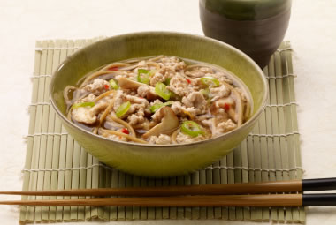 Five Spice Turkey Noodle Bowls Recipe Photo - Diabetic Gourmet Magazine Recipes