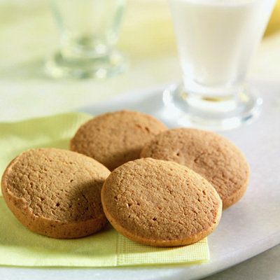 Ginger Snaps recipe photo from the Diabetic Gourmet Magazine diabetic recipes archive.