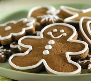 Gingerbread Man Cookies recipe photo from the Diabetic Gourmet Magazine diabetic recipes archive.