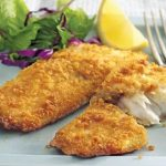 Graham-Cracker Crusted Cod