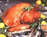 Herb-Roasted Turkey with Citrus Glaze recipe photo from the Diabetic Gourmet Magazine diabetic recipes archive.