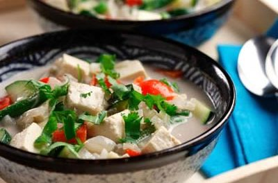 Indonesian Tofu and Vegetable Stew