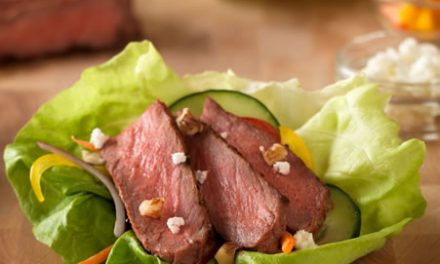 Inside-Out Grilled Steak Salad