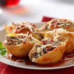 Italian Beef Stuffed Shells Marinara