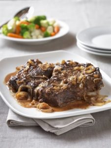 Italian Braised Beef Roast recipe photo from the Diabetic Gourmet Magazine diabetic recipes archive.