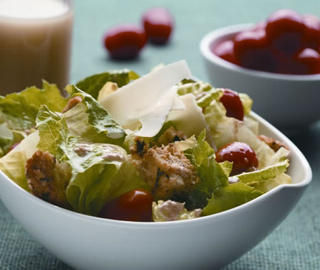Lemon Caesar Salad Recipe Photo - Diabetic Gourmet Magazine Recipes