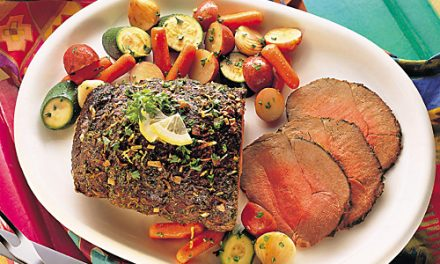 Lemon-Herb Beef Roast