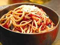 Linguine Puttanesca Recipe Photo - Diabetic Gourmet Magazine Recipes