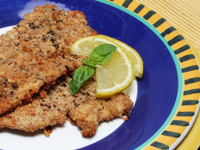 Milanese Turkey Cutlets