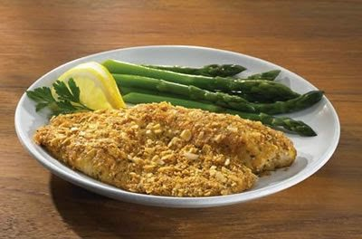 Parmesan Herb Encrusted Fish