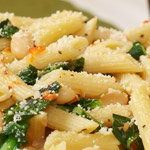 Penne with Greens and Cannellini Beans