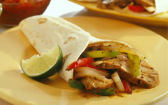 Pork Tenderloin Fajitas Recipe Photo - Diabetic Gourmet Magazine Recipes