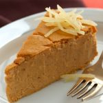 Pumpkin-Maple Crustless Cheesecake