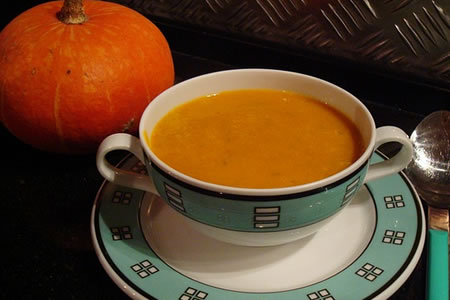 Pumpkin Soup Recipe Photo - Diabetic Gourmet Magazine Recipes