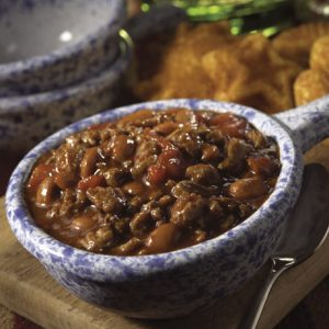 Quick and Hearty Turkey Chili recipe photo from the Diabetic Gourmet Magazine diabetic recipes archive.