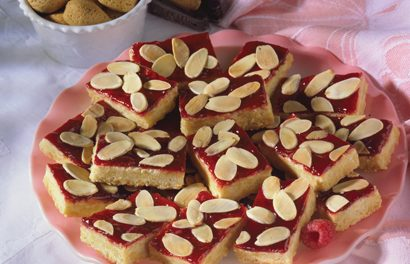 Raspberry-Almond Cookies