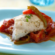 Red Snapper With Zesty Tomato Sauce