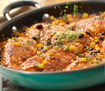 Santa Fe Chicken Recipe Photo - Diabetic Gourmet Magazine Recipes