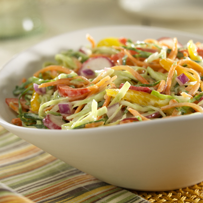 Southern-Style Slaw Recipe Photo - Diabetic Gourmet Magazine Recipes