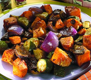 Southwestern Roasted Vegetables