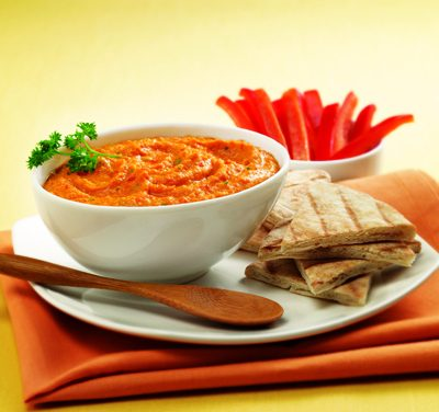 Sweet Red Pepper Hummus