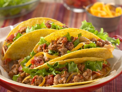 Tacos con Puerco Recipe Photo - Diabetic Gourmet Magazine Recipes
