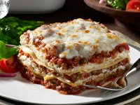 Traditional Lasagna Recipe Photo - Diabetic Gourmet Magazine Recipes