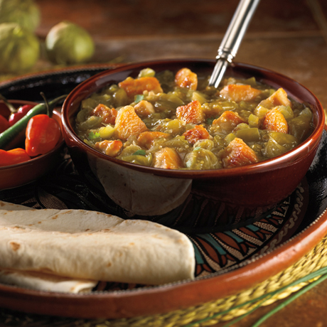 Turkey Chili Verde Recipe Photo - Diabetic Gourmet Magazine Recipes