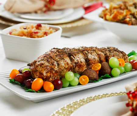 Turkey Roulade Recipe Photo - Diabetic Gourmet Magazine Recipes