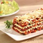 Vegetable Lasagna recipe photo from the Diabetic Gourmet Magazine diabetic recipes archive.